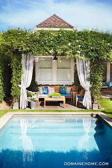 lea michele back yard home decor interiors