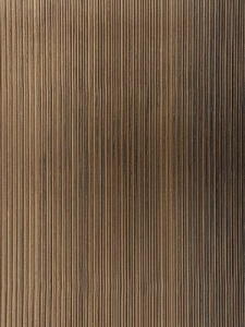 Schumacher Wallpaper - Rimini Rib - Burnished Bronze 529907