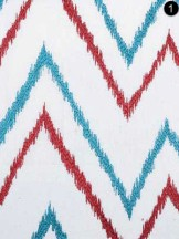 Fabric: B. Berger's Red/Blue 73033-73