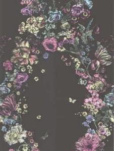 Cole & Son Wallpaper - Fiori - Black 77_6018_CS