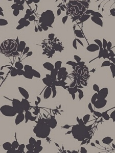 Cole & Son Wallpaper - Absence of Rose - Black  86_4015