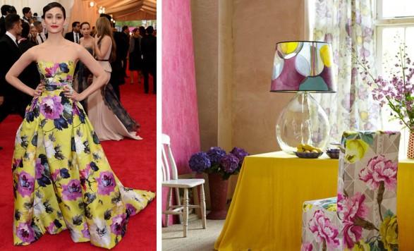 Emmy Rossum Met Gala 2014 Carolina Herrera