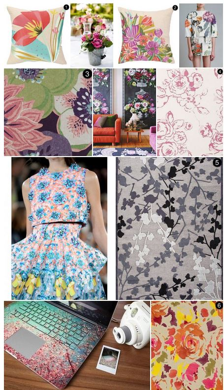 incorporating floral into your decor inspiration