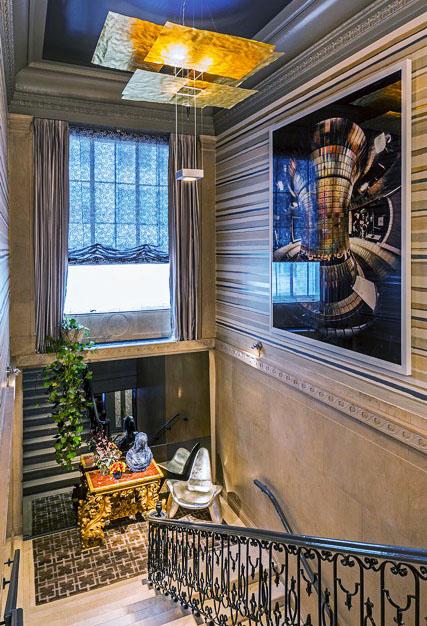 2014 Kips Bay Decorator Show House NYC John Douglas Eason Grand Staircase Interior Decor