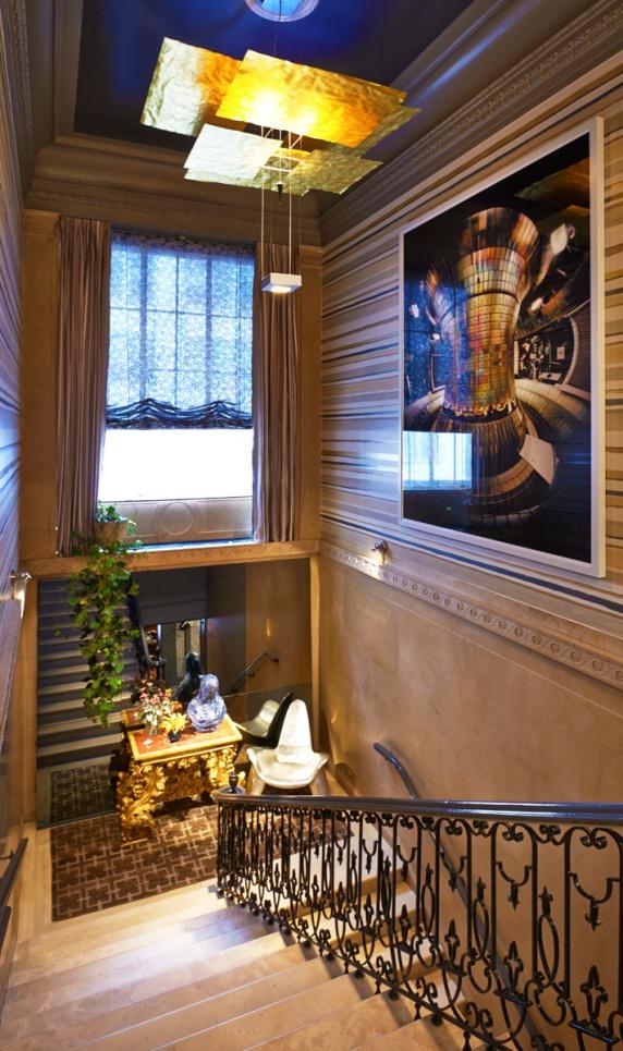John Douglas Eason Grand Staircase Kips Bay Decorator Show House 2014 NYC