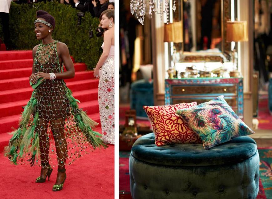 Lupita Nyongo Met Gala 2014 Prada Red Carpet