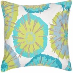 Jaipur Pillow - Nerine -Aqua