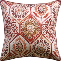 Ryan Studio Pillow - Summer Breeze - Crimson