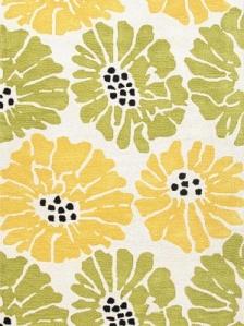 Jaipur Rug - Flora - Green/Yellow
