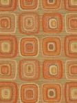 Fabricut Geometric Orange Fabric Pandora Kumquat 2470905