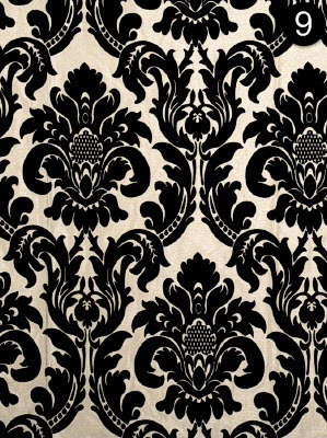 Fabric: Fabricut - Crystal City - Black Pearl 3430003