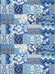 Stroheim Dana Gibson Fabric Patchwork Parish Patch 4702003