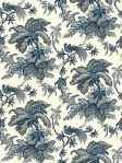 Schumacher Wallpaper Coconut Grove Lapis 5004050
