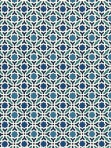 Schumacher Wallpaper Serallo Mosaic Aegean 5005970
