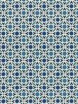 Schumacher Wallpaper Serallo Mosaic Aegean 5005970