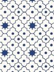 Schumacher Wallpaper Taj Trellis Jaipur Blue 5006620
