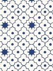 Schumacher Wallpaper Taj Trellis Jaipur Blue 5006620