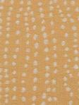 B. Berger Fabric Sunflower Orange Dots Abstract 71060-632