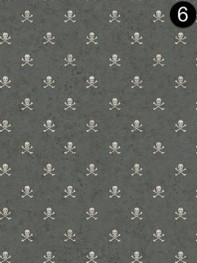 Wallpaper: York Skull Crossbone Spot BT2821