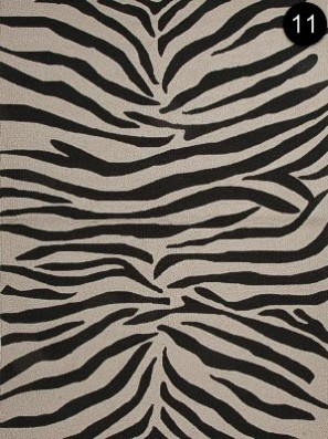 Rug: Jaipur - Party Lines Ivory/Bla CI02