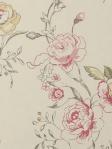 Clarke & Clarke Wallpaper Clarisse - Raspberry