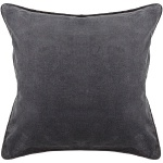 Chandra Pillow - CUS-28006 grey velvet