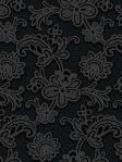 York Designer Wallpaper Modern Lace Black Candice Olson DE8807