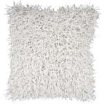 Surya Pillow Textured White fa046