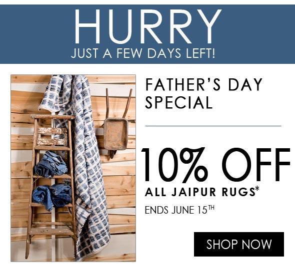 10% off all jaipur area rugs sale