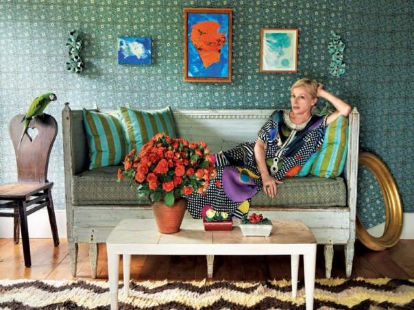 cindy sherman photographer interior decor hamptons home