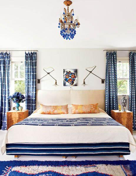 Cindy Sherman Celebrity Hampton Home Master Bedroom Decor