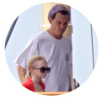 Johnny Depp Celebrity Dad
