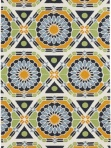 Surya Mosaic Ethnic Rug Yellow Blue Green kal8002-58