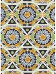Surya Mosaic Ethnic Rug Yellow Blue Green kal8002-58