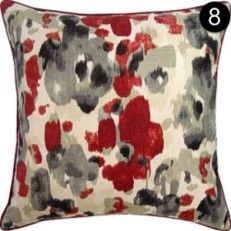 Pillow: Ryan Studio Landsmeer - Red Landsmeer-81-T