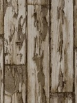 Clarke & Clarke Wallpaper - Peeling Planks - Antique Faux Wood