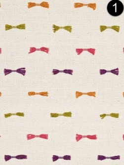 Fabric: Baker Lifestyle - Bow Tie Pink PF50314_1_0