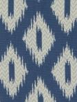 Robert Allen Fabric Pointed Peaks Ikat - Cobalt