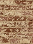 York Faux Brick Wallpaper Up the Wall RB4305