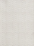 Dash & Albert Rug Diamond Platinum/White Indoor/Outdoor RDB203