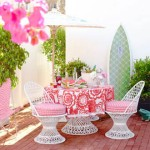Bright & Bold Summer Beach House Decorating