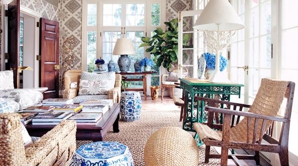 Tory Burch Hamptons Home Decor