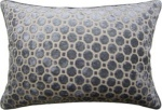 Ryan Studio Pillow Velvet Geometric Grey