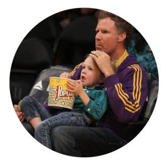 will ferrell celebrity dad