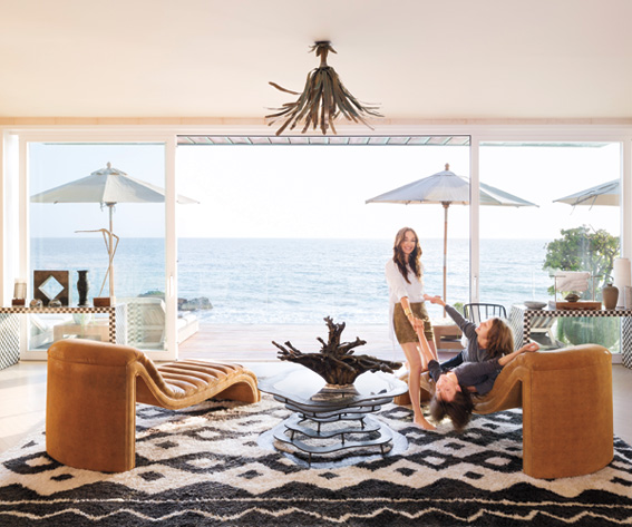 Kelly Wearstler Beach House: John Mellencamp Vacation Home