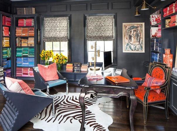 kourtney kardashian home decor study