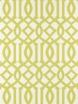 Schumacher Wallpaper Imperial Trellis - Citrine 2707213