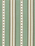 Schumacher Fabric - Francesca Stripe - Aqua 64753