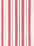 Schumacher Fabric Branca Stripe - Rouge 68311 Pink