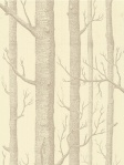 Cole & Son Wallpaper Woods Beige/Cream Wallpaper 69_12148_CS